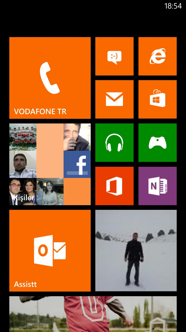 Windows 8 Mobile E Posta Ayarları